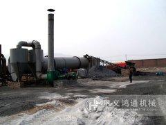 煤泥烘干机生产线,烘干煤泥工艺流程图,煤泥干燥设备