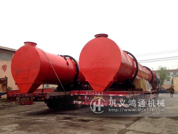 煤泥烘干机生产线发货图片