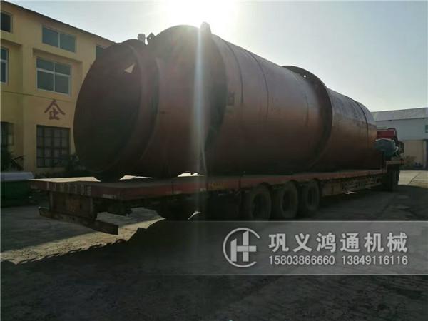 大型煤泥烘干机发货现场