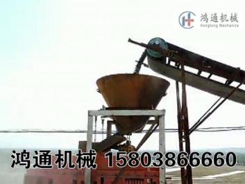 四川鹅卵石制砂机生产现场视频